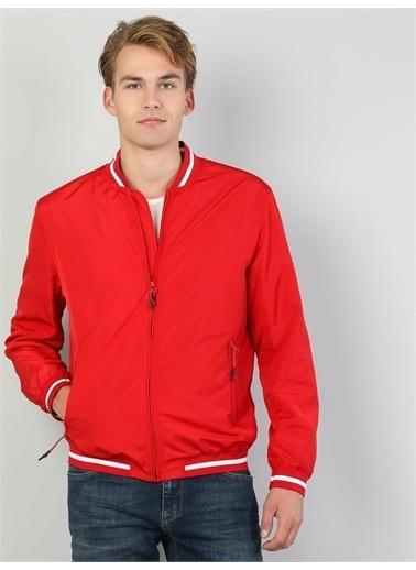 Colin's CL1048172_Q1.V1_RED  Regular Fit  Erkek Kırmızı Mont Kırmızı
